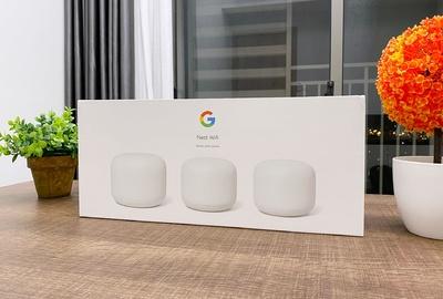 Review 3 trái trứng WiFi mesh biết nói và điều khiển smarthome: Google Nest WiFi